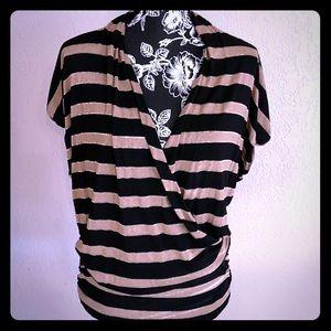 NWOT Ella Moss striped top